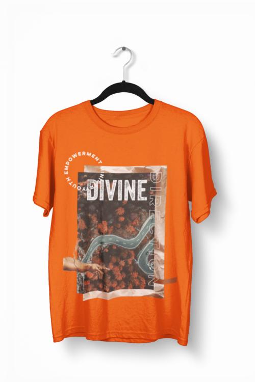 Orange YEM Divine Direction T-Shirt